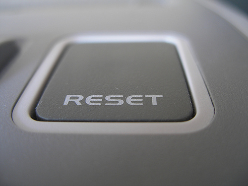 Time to RESET!